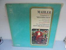 33 Tours - Mahler - Resurrection - Léonard Bernstein - 1972
