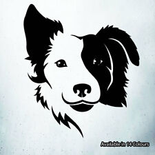 Border Collie Dog Vinyl Decal Sticker Car Laptop Window Wall Art