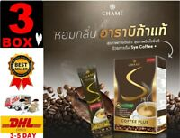 X3 Box Chame' Sye Coffee Plus Dietary Supplement Balance Weight Control Slimming