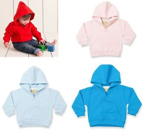 Toddler Baby Cotton Mix Hooded Sweatshirt Hoodie 6/12 mth - 5/6 yrs LW002