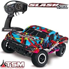 NEW Traxxas Slash VXL Brushless 2WD RTR RC Truck HAWAIIN BODY w/TSM - 58076-4