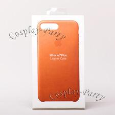 Genuine Original Apple Leather Case For iPhone 7 Plus / 8 Plus - Saddle Brown