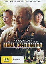 City Of Your Final Destination - Drama - Anthony Hopkins - NEW DVD