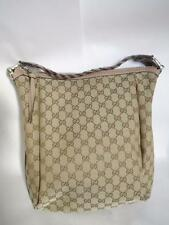 NEW $1,130 GUCCI Hobo Tote Bag with Bamboo Bar 257090