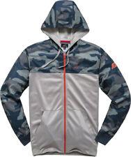 Alpinestars Reckon Navy Blue Camo Camouflage Zip Up Hoodie Jacket Large Lg