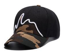 Mens Womens camouflage Sport Hat Adjustable Embroirdery Cotton Baseball Cap