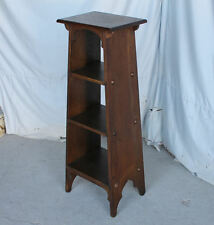 Antique Mission Oak Magazine Stand  - Arts and Crafts