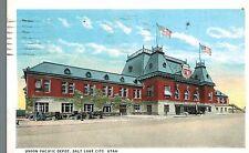 Salt Lake City,Utah,Union Pacific Depot,Used,1924