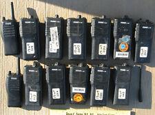 Bearcom IC-F21S Tekk T-20 UHF & VHF Transceiver Walkie Talkie Lot of 13 PCI-150A