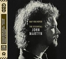 JOHN MARTYN MAY YOU NEVER THE ESSENTIAL 3CD ALBUM (November 25th 2016)