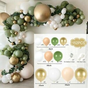 Balloon Arch Garland Kit Set Latex Party Wedding Baby Shower Balloons Decoration