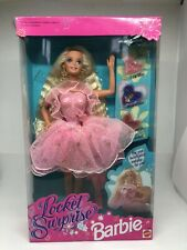 BARBIE LOCKET SURPRISE NRFB 1993 MADE IN INDONESIA