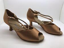 Chaussure de danse de salon pour femme Diamant couleur:bronze taille:38,5