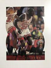 1998 Upper Deck MJX MJ Timepieces /2300 #12 Michael Jordan, Chicago Bulls HOF
