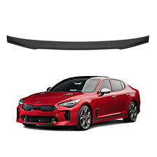 M&S Matte Black ABS Rear Trunk Wing Spoiler S-Type (Fits: KIA 2018+ Stinger)