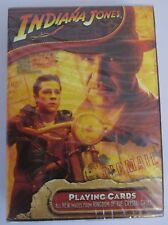 NEW! INDIANA JONES Playing Cards Kingdom of Crystal Skull SEALED  #309