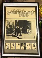 GRATEFUL DEAD VINTAGE PROMO POSTER Workingman's Dead LP  WB#1869 *MEMORYLEN*
