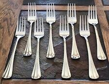 New listing 8 Ea International Silver Silversmith Dinner Forks Pre-0wned Euc
