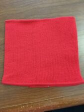 Occunomix RK800 Flame Retardant Polyester Knitted Tube Hard Hat Liner Red