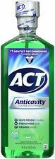 ACT Zero Alcohol Anticavity Fluoride Mouthwash Mint 18oz  bottle