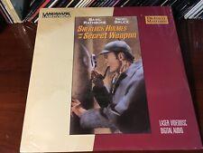 Laserdisc SHERLOCK HOLMES AND THE SECRET WEAPON 1941 New Sealed Unopened LD Lot2