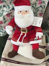 Hallmark The Polar Express Talking Santa Claus Plush Jingle Bell 18�