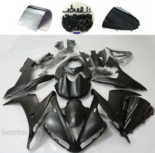 For Yamaha YZF R1 2004 2005 2006 Matte Black Fairing Kit ABS Injection + Bolts