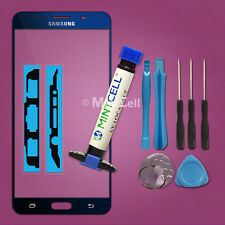 Blue Front Screen Glass Replacement for Galaxy Note 5 Repair w/ LOCA UV Glue