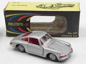 Politoys M 527 Porsche 912 911 grigio chiaro met.  scatola w/ box  die cast 1/43
