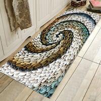 Cobblestone Soft Floor Bath Mat Rugs Doormat Non Slip for Bathroom Kitchen