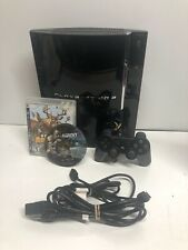 Sony PlayStation PS3 Fat 60GB Backwards PS2 Compatible CECHA01 Console Tested