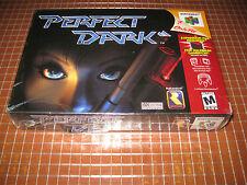 N64 PERFECT DARK USA NTSC NINTENDO 64 NEW SEALED