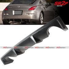 PU Rear Body Kit Bumper Diffuser Spoiler Lip Fits 03-07 Nissan 350Z Z33 Fairlady