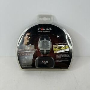 POLAR FT7 Fitness Heart Rate Monitor Color Black/Silver New, Factory Sealed
