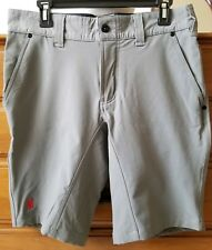 CHROME Industries Folsom Shorts Grey Water Resistant  Bike Shorts Men's 32