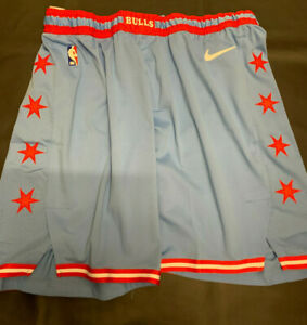 "Chicago Bulls - Authentic Nike ""2019-2020 City Edition"" Official Shorts _ NEW!!!"