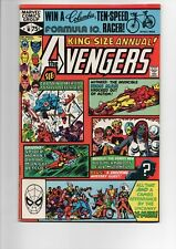 AVENGERS ANNUAL #10 from 1981 in VF/NM 9.0...1st ROGUE appearance..ONLY $9.95!