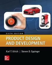 Product Design and Development by Eppinger and Ulrich (2015, Hardcover)