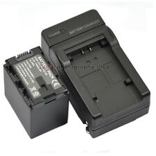 AC/DC Charger +4450mAh Battery for JVC BN-VG138 Everio GZ-HM30 GZ-HM50 Camcorder