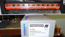 LS MODELS 47453 UIC-Z Eurofima 1 classe Arancio fascia grigia, logo inclinato FS