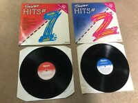 Super Hits 1 & 2 Vinyl UK 35 Hits 1981 2 LP Compilation Ronco