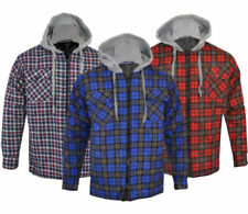 Hooded Check Regular Fit Casual Shirts & Tops for Men