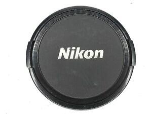 Nikon 77mm Black / Silver Snap On Front Camera Lens Cap