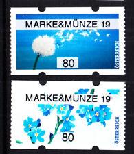 """17.5.2019, postfr. **, AWZ,ATM, 80 C- Paar,""""MARKE&MÜNZE 19"""";"""