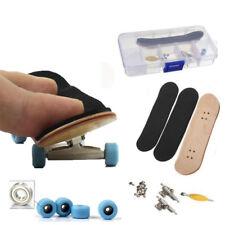 98mm Maple Wood Games Kids Wooden Deck Fingerboard Skateboard Sport Gift