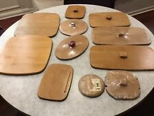 Longaberger Lid Lot Of 11, Variety Of Sizes, Some New