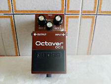 Boss OC-2 Octaver effetto pedale, serie 244900 made in Japan.