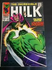 Marvel Comics The Incredible Hulk issue 107 1968
