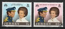 Great Britain / Jersey - 1973 Royal wedding - Mi. 89-90 CTO