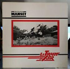 """GERARD MANSET  LP  FR ORIG  1981 """" LE TRAIN DU SOIR """"  EMI 2C 070 72443"""